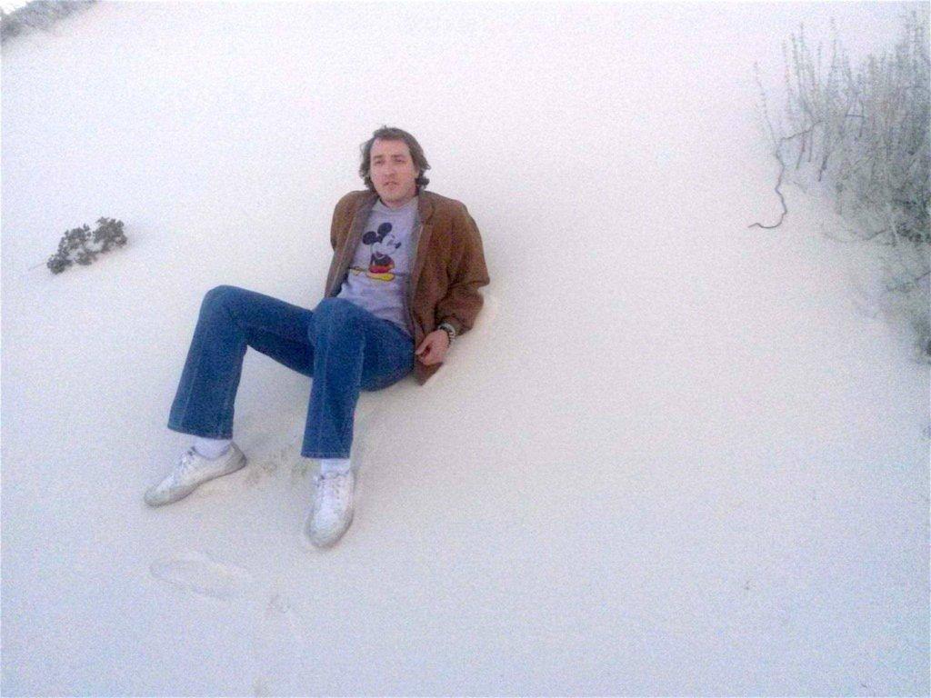 DAVID WHITE SANDS